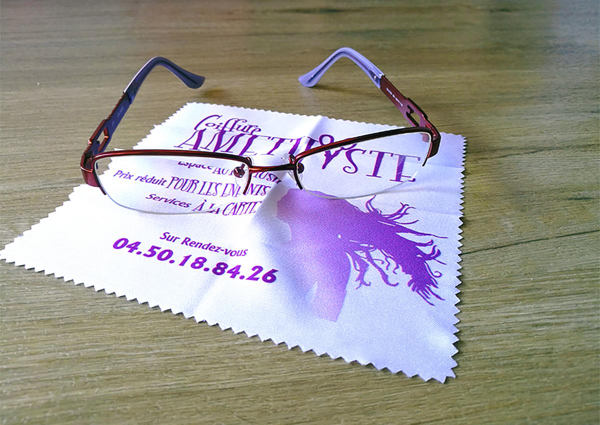 Amethyste coiffure - lingette lunettes