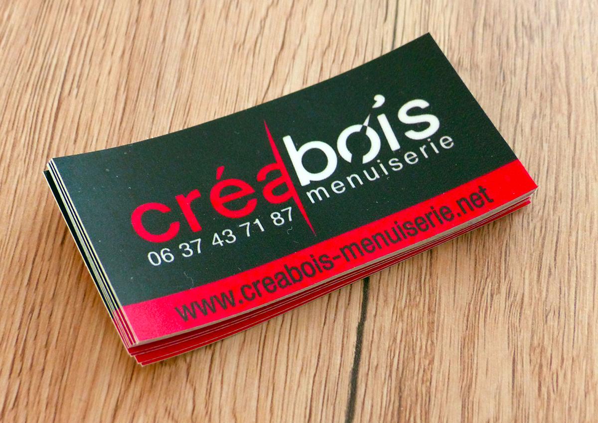 CreaBois - Autocollant