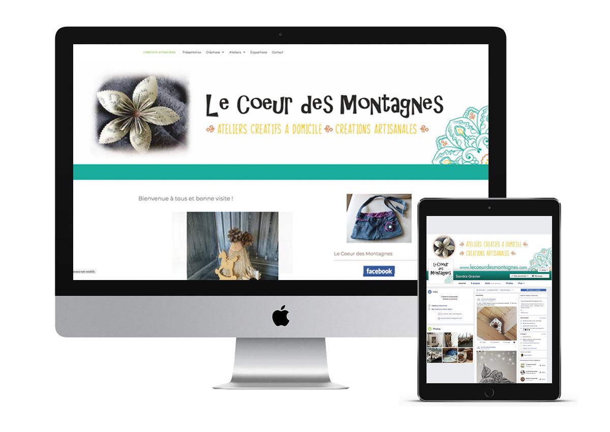 site web lecoeurdesmontagnes