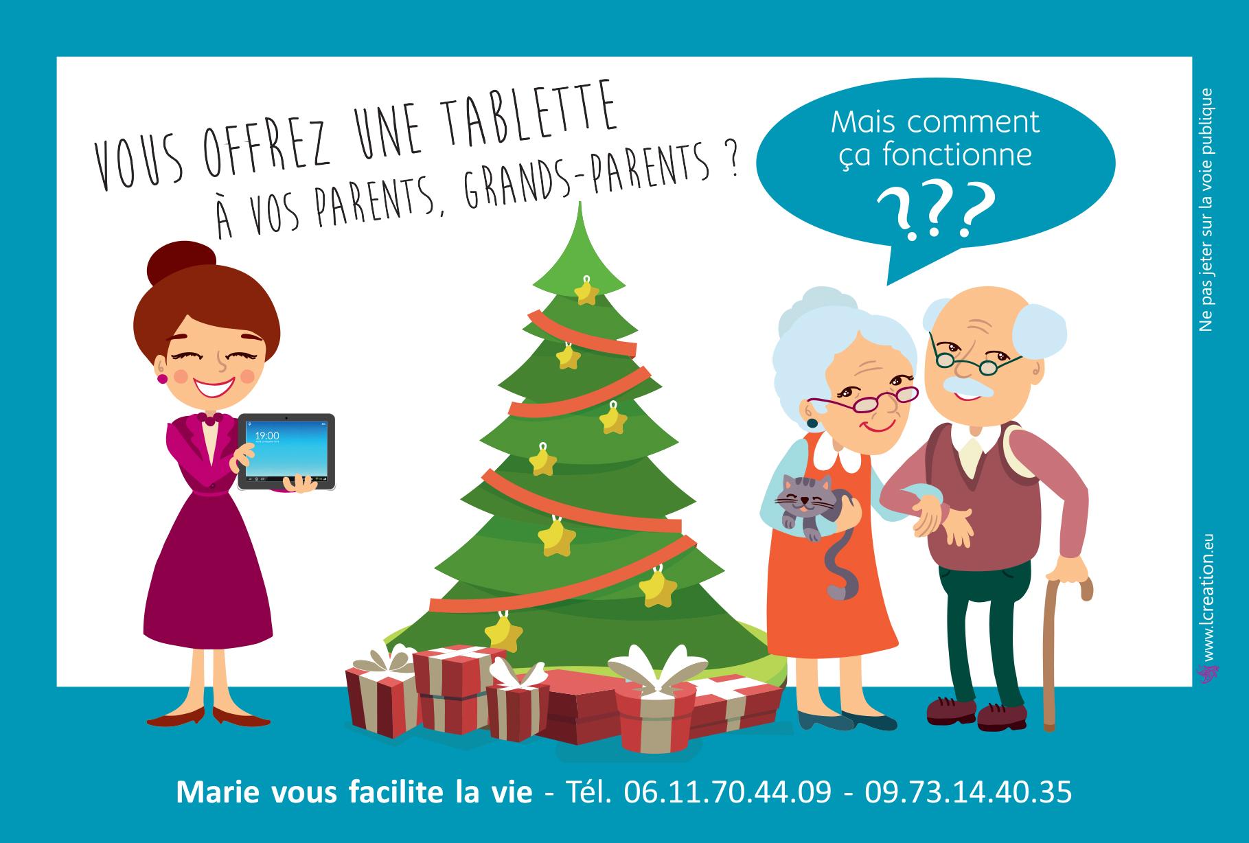 Flyer Noël 2018 Verso