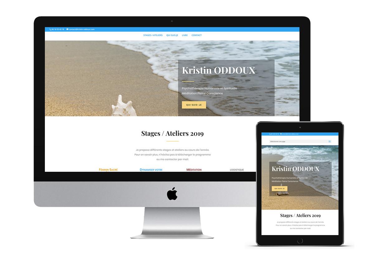 site web Kristin Oddoux